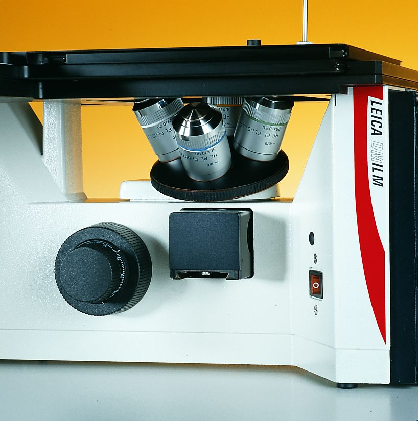 Leica DM ILM, Tube rotated to the side